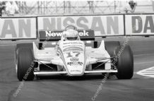 "March 821 Rupert Keegan Las Vegas GP 1982. 10x7"" action photo"